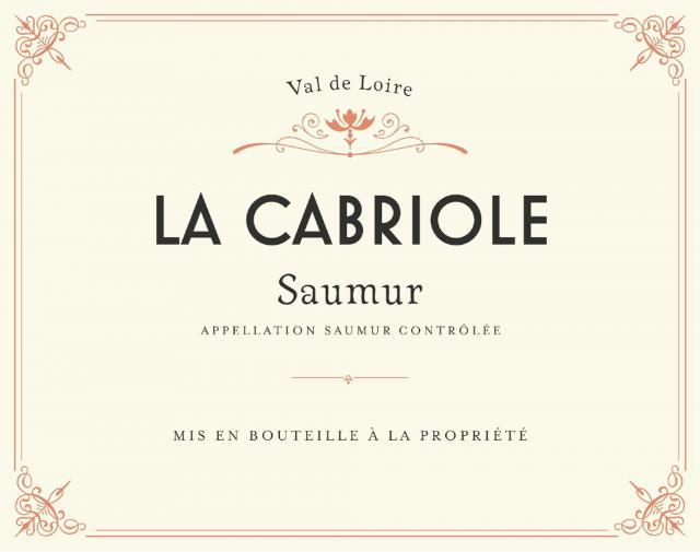 Cabernet de Saumur La Cabriole