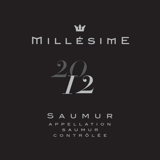 Saumur Blanc Millesime 2012