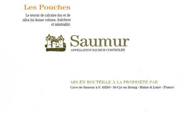 Saumur Rouge Cuvee Les Pouches