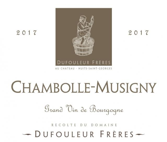DF   Chambolle Musigny 2017