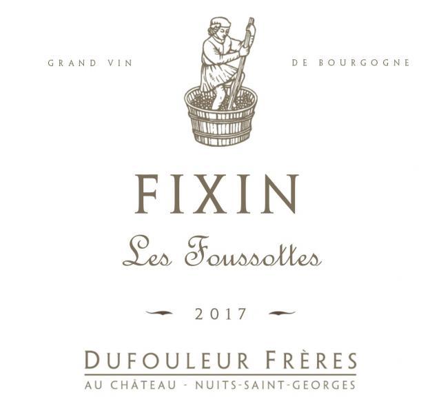 DF   Fixin Les Foussottes 2017