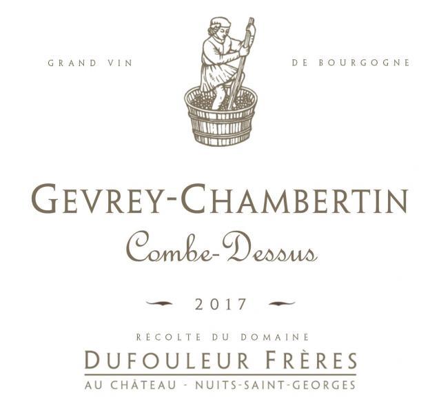 DF   Gevrey Chambertin Combe Dessus 2017