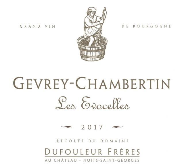 DF   Gevrey Chambertin Les Evocelles 2017