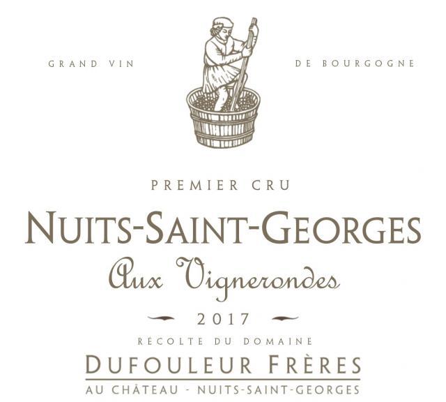 DF   Nuits Saint Georges 1er Cru Aux Vignerondes 2017