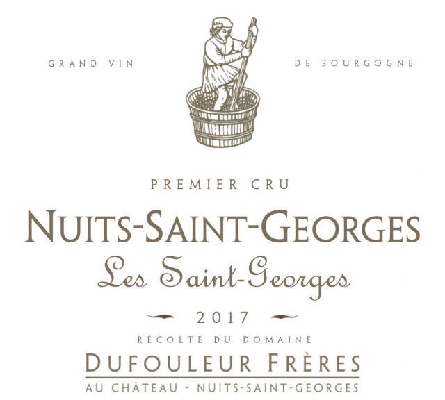 DF   Nuits Saint Georges 1er Cru Saint Georges 2017