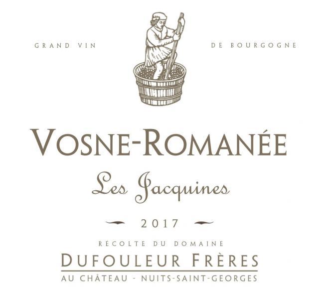 DF   Vosne Romanée Les Jacquines 2017