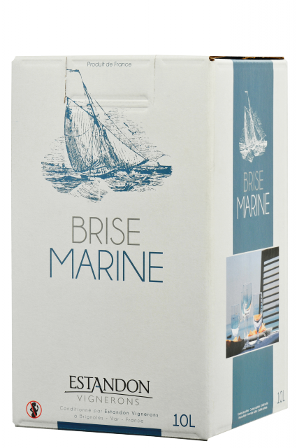 Brise Marine Bag-In-Box rouge 10 Litres