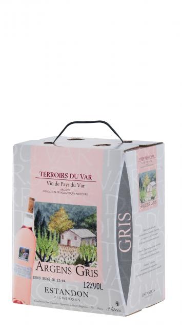 Terroirs du Var - ARGENS Gris  - BIB 3 Litres