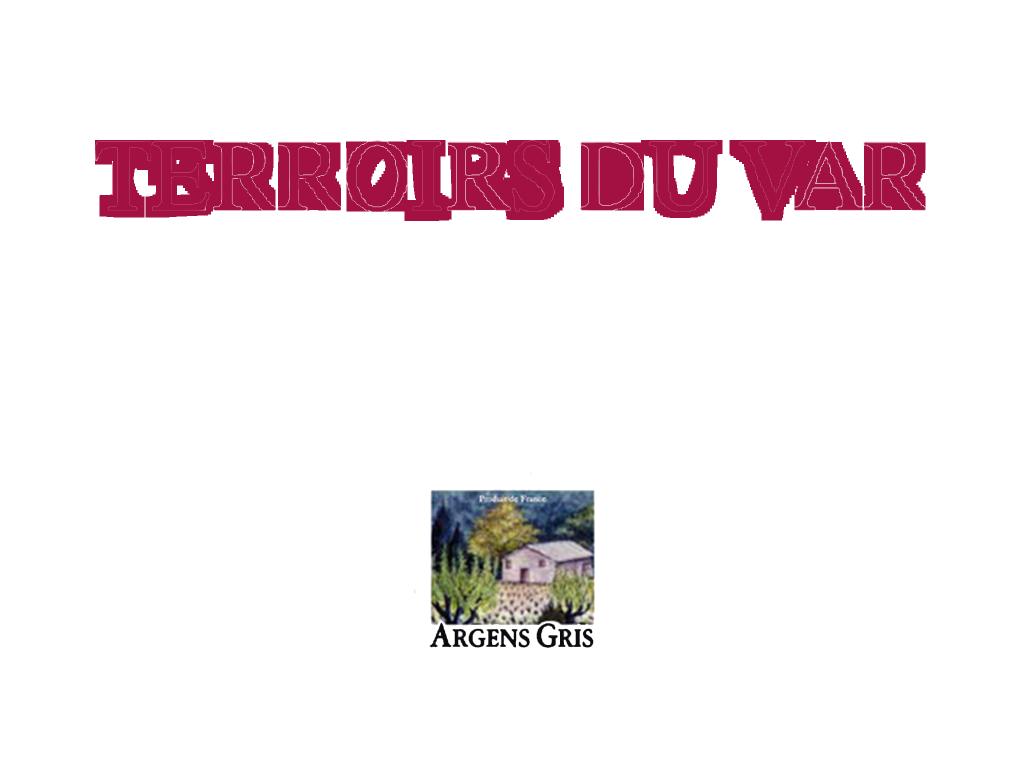 Logo Terroirs du Var