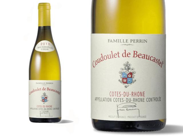 Château de Beaucastel Côtes du Rhône Coudoulet Blanc 2018