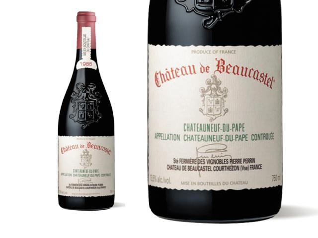 Beaucastel Rouge 1985 Macro