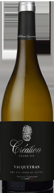 Création Grand Vin, AOC Vacqueyras, Blanc, 2018